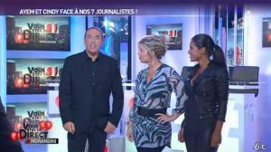 Ayem et Cindy Lopes dans Vous êtes En Direct - 06/09/12 - 04