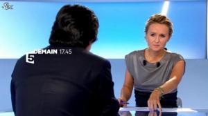 Caroline Roux dans Bande Annonce de C Politique - 13/10/12 - 01