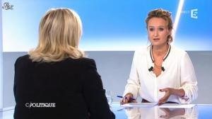 Caroline Roux dans C Politique - 07/10/12 - 07