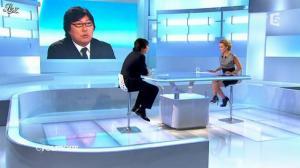 Caroline Roux dans C Politique - 09/09/12 - 13