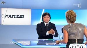 Caroline Roux dans C Politique - 09/09/12 - 29