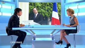 Caroline Roux dans C Politique - 09/09/12 - 32