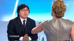 Caroline Roux dans C Politique - 09/09/12 - 38