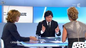 Caroline Roux dans C Politique - 09/09/12 - 45