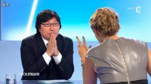 Caroline Roux dans C Politique - 09/09/12 - 46