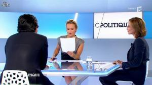 Caroline Roux dans C Politique - 09/09/12 - 47