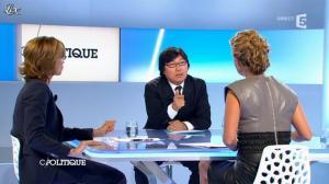 Caroline Roux dans C Politique - 09/09/12 - 54