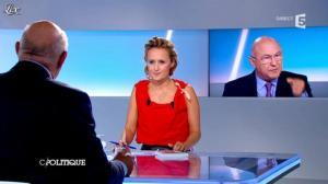 Caroline Roux dans C Politique - 16/09/12 - 21