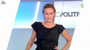 Caroline Roux dans C Politique - 23/09/12 - 05