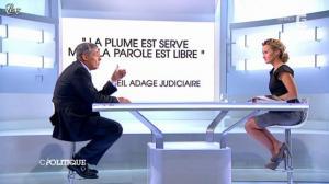 Caroline Roux dans C Politique - 23/09/12 - 14