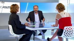 Caroline Roux dans C Politique - 25/11/12 - 35