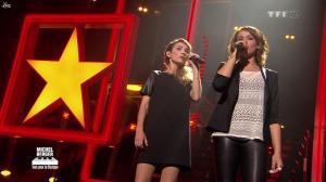 Chimène Badi et Claire Keim dans Michel Berger Tout Pour la Musique - 08/06/12 - 05