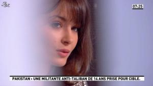 Emmanuelle Duez dans la Matinale - 10/10/12 - 04