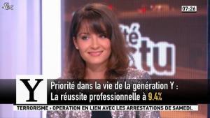 Emmanuelle Duez dans la Matinale - 10/10/12 - 08