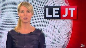 Florence Dauchez dans le JTde Canal Plus - 03/10/12 - 01