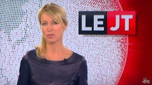 Florence Dauchez dans le JTde Canal Plus - 03/10/12 - 02