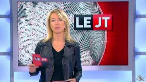 Florence Dauchez dans le JTde Canal Plus - 09/11/12 - 02