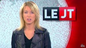 Florence Dauchez dans le JTde Canal Plus - 09/11/12 - 03
