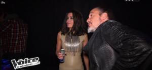 Jenifer Bartoli dans dans les Coulisses de The Voice 1x03 - 10/03/12 - 05