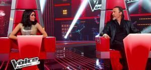 Jenifer Bartoli dans dans les Coulisses de The Voice 1x03 - 10/03/12 - 09