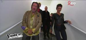 Jenifer Bartoli dans dans les Coulisses de The Voice 1x06 - 31/03/12 - 01