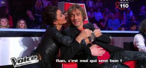 Jenifer Bartoli dans dans les Coulisses de The Voice 1x06 - 31/03/12 - 02