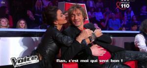 Jenifer Bartoli dans dans les Coulisses de The Voice 1x06 - 31/03/12 - 02