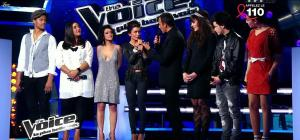 Jenifer Bartoli dans dans les Coulisses de The Voice 1x06 - 31/03/12 - 06