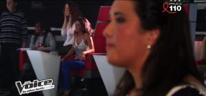 Jenifer Bartoli dans dans les Coulisses de The Voice 1x06 - 31/03/12 - 08
