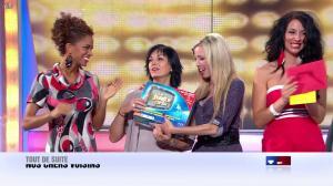 Les Gafettes, Fanny Veyrac, Doris Rouesne et Nadia Aydanne dans le Juste Prix - 26/10/12 - 13