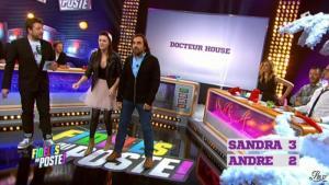 Sandra Lou dans Fideles au Poste - 20/12/12 - 02