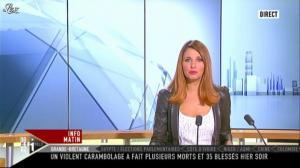 Valérie Amarou sur i-Télé - 05/11/11 - 02