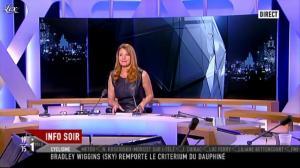 Valérie Amarou sur i-Télé - 12/06/11 - 13
