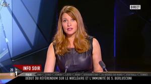 Valérie Amarou sur i-Télé - 12/06/11 - 32