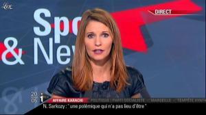 Valérie Amarou sur i-Télé - 20/11/10 - 02
