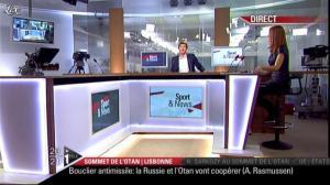 Valérie Amarou sur i-Télé - 20/11/10 - 08