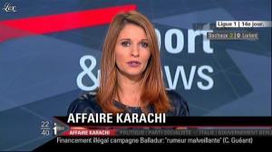 Valérie Amarou sur i-Télé - 20/11/10 - 12