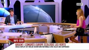 Valérie Amarou sur i-Télé - 29/05/11 - 06