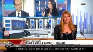 Valérie Amarou sur i-Télé - 29/10/11 - 09
