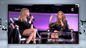 Véronic Dicaire et Céline Dion dans Touche pas à Mon Poste - 26/11/12 - 02