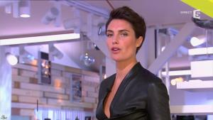 Alessandra Sublet dans C à Vous - 15/05/13 - 12