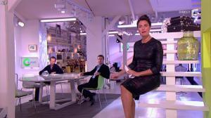 Alessandra Sublet dans C à Vous - 17/01/13 - 03