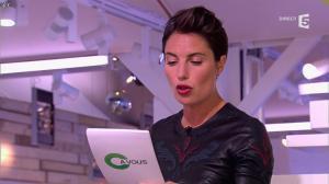Alessandra Sublet dans C à Vous - 17/01/13 - 04