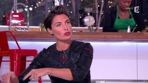 Alessandra Sublet dans C à Vous - 17/01/13 - 09