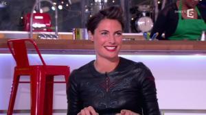 Alessandra Sublet dans C à Vous - 17/01/13 - 10