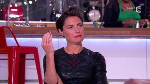 Alessandra Sublet dans C à Vous - 17/01/13 - 11