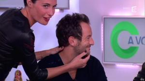 Alessandra Sublet dans C à Vous - 17/01/13 - 12