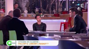 Alessandra Sublet dans C à Vous - 17/01/13 - 13