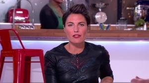 Alessandra Sublet dans C à Vous - 17/01/13 - 14