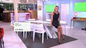 Anne-Sophie Lapix dans C à Vous - 03/09/13 - 01